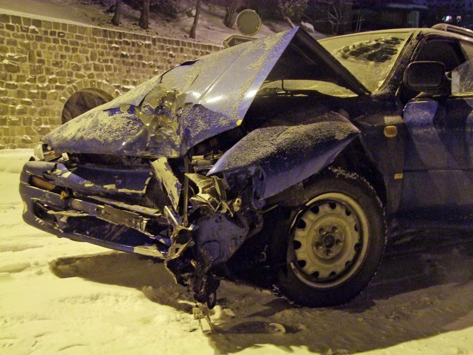 Unfall in St. Moritz (Polizeifoto: Kapo Graubünden)