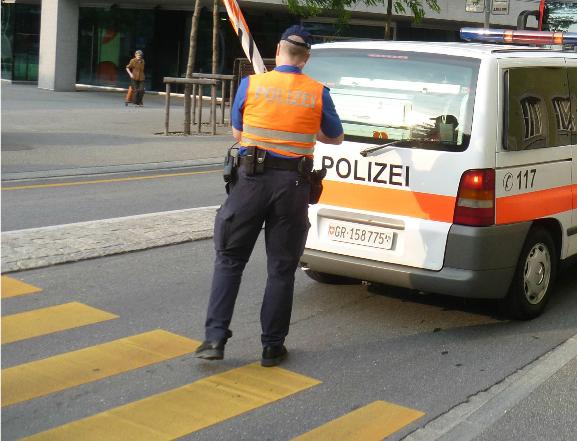 Unfall an der Masanser Straße vor einem Fußgängerstreifen (Archivfoto: Schlagwort AG / Remo Maßat)