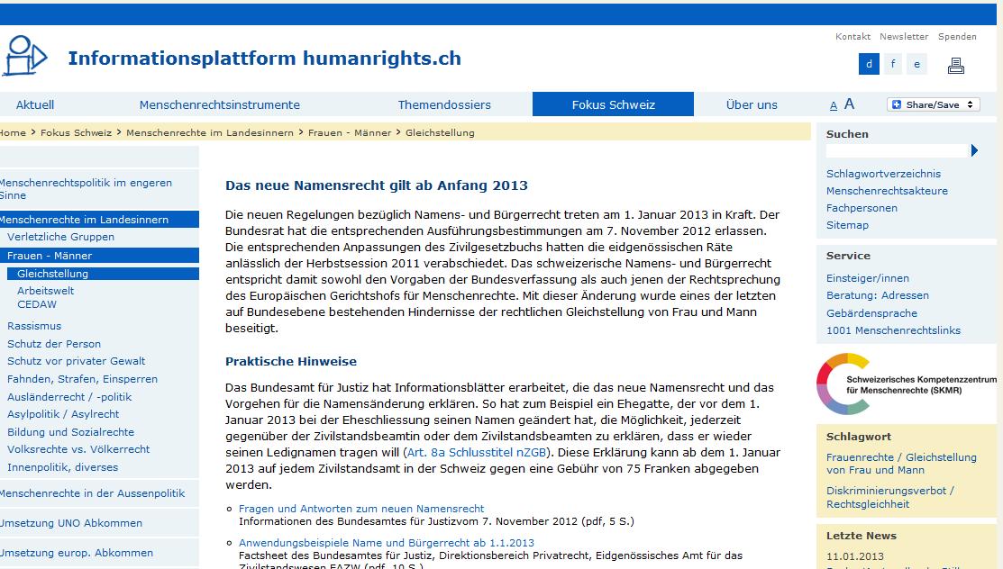 Die Menschenrechte: Wer glaubt, daß es hier noch um Grundrechte geht, sieht sich getäuscht. Es geht zumeist nur noch um das Durchdrücken von (linker) Ideologie.