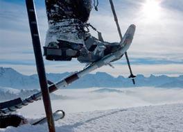 Schneeschuhlaufen in Urmein