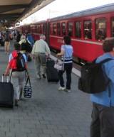Der Zug von St. Moritz nach Thusis / Chur ist am 13. August 2014 entgleist (Archivfoto). Zu dem Zugunglück liegen auch Stunden danach bloß sehr spärliche Informationen vor.