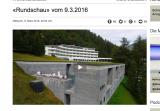 Rundschaubericht über Unregelmäßigkeiten beim Verkauf der Therme Vals an Remo Stoffel berichtete sachgerecht, so die UBI