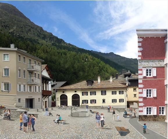 Dorfplatz Silvaplana