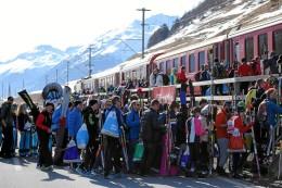 Engadin Skimarathon: Logistischer Kraftakt