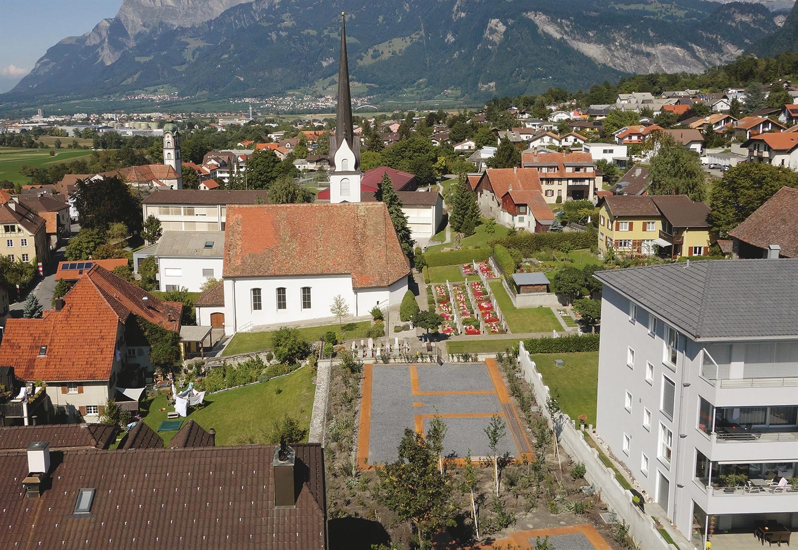 Der Königshof von Zizers - Eröffnung des Archäologischen